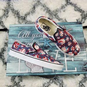 Vans Crew Floral Classic slip-on (CL)